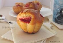 Muffin alle fragole – ricetta kefir