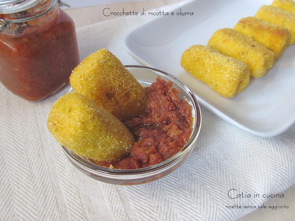 crocchette di ricotta e okara con paté di pomodori secchi