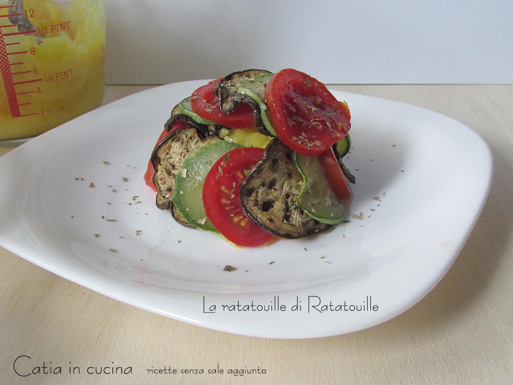 ratatouille di Ratatouille - monoporzione non gratinata