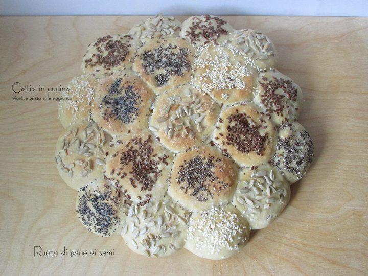 ruota di pane ai semi