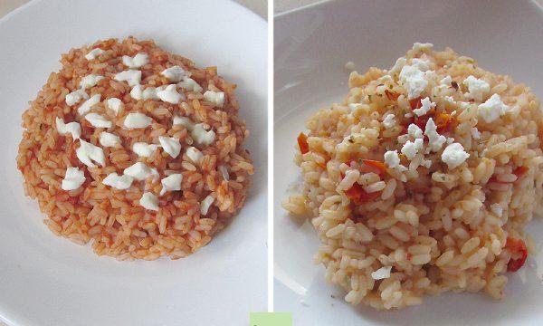 Riso al pomodoro (in due versioni)