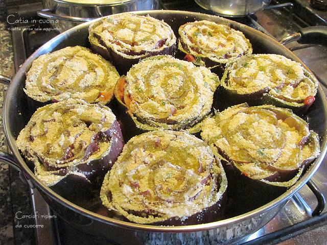 carciofi ripieni da cuocere 2
