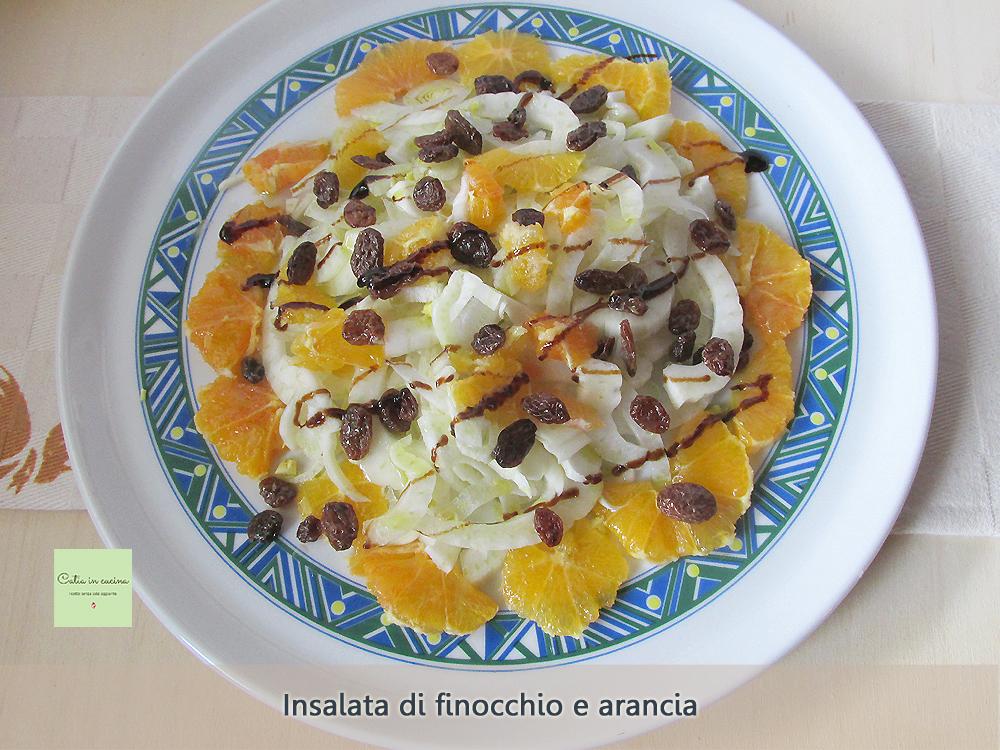 insalata di arancia e finocchio