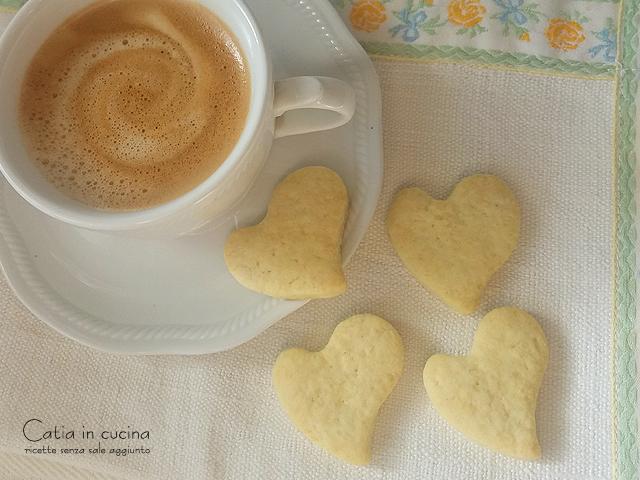 biscottini di pasta frolla alla panna