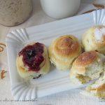 Girelle dolci e soffici per la colazione