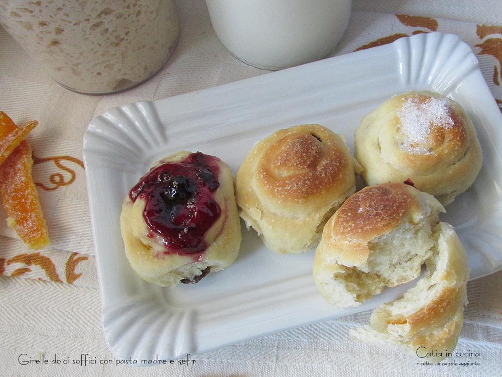 girelle dolci soffici per la colazione