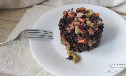 Insalata di riso venere pronta in 5 minuti