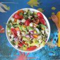 insalata estiva con patate piatto unico