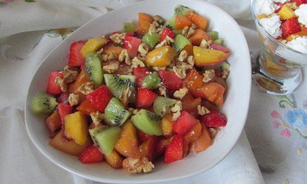 La macedonia di frutta della Leda