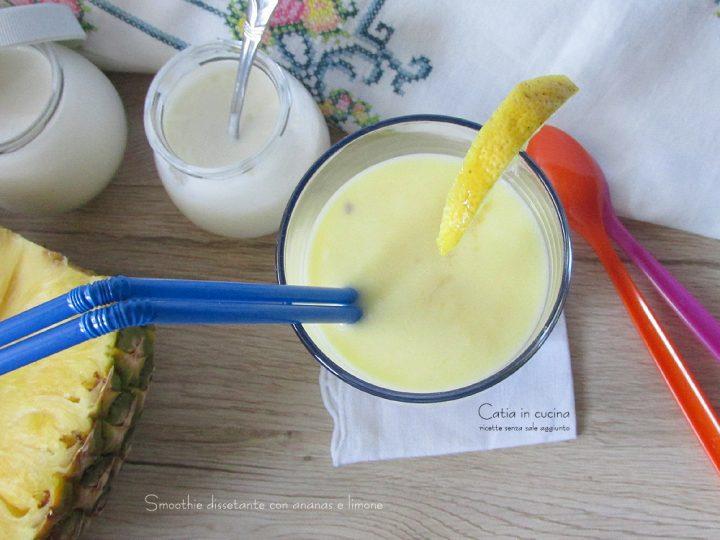 smoothie ananas e limone