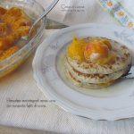 Pancakes senza uova con composta light di susine