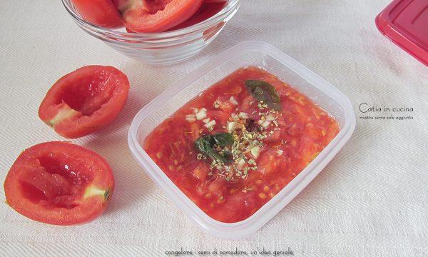 Congelare i semi di pomodoro, un'idea geniale