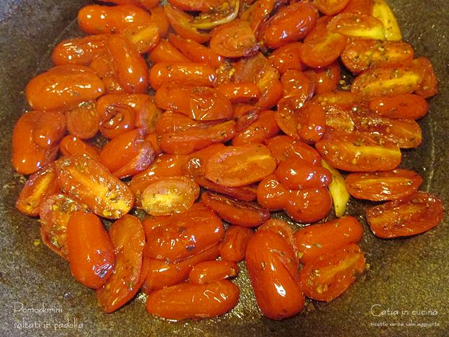 pomodorini saltati in padella