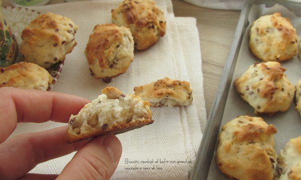 Biscotti morbidi e inzupposi (al kefir o yogurt)