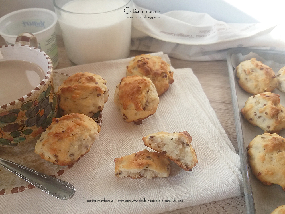 biscotti morbidi al kefir