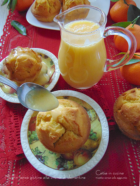 muffin alla crema di clementine