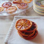 arance essiccate con essiccatore
