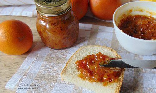 Marmellata di arance tarocco cotta nel microonde