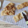 crackers con esubero ai semi misti