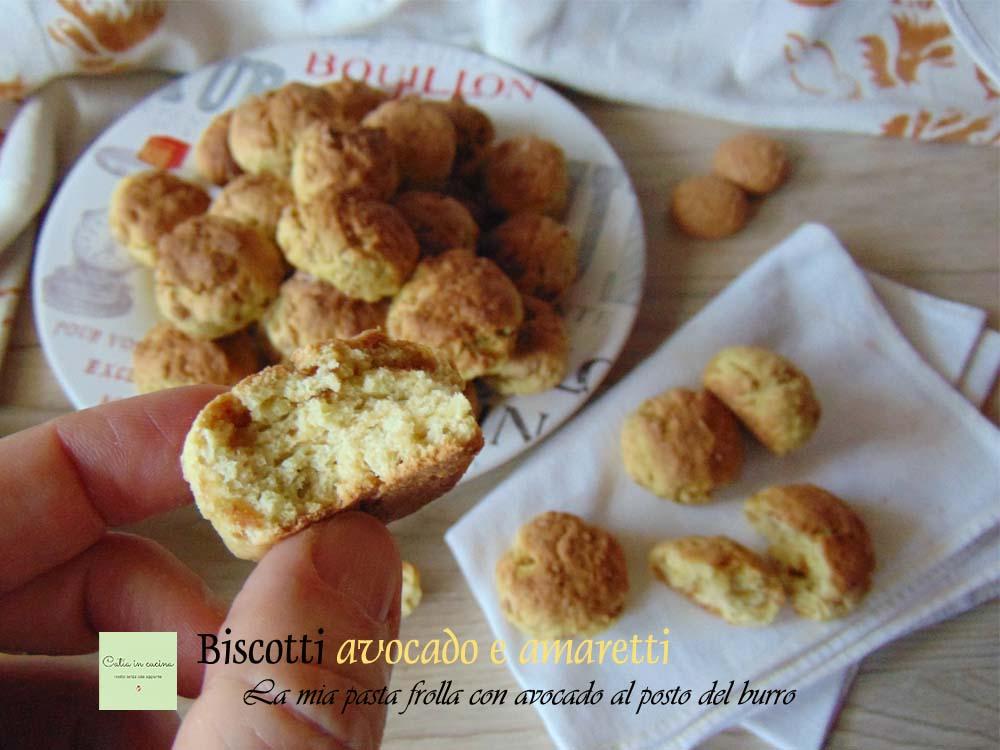 biscotti avocado e amaretti interno