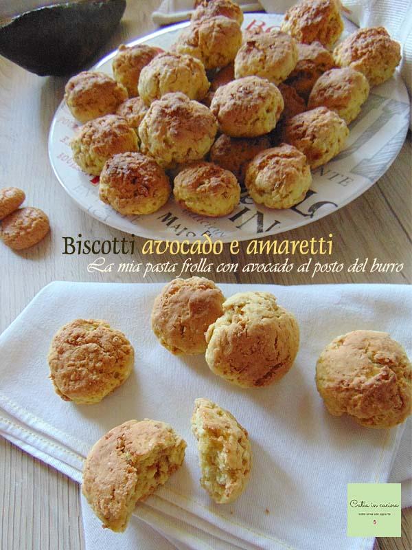 biscotti avocado e amaretti