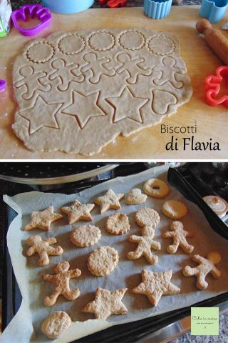 biscotti di Flavia steps