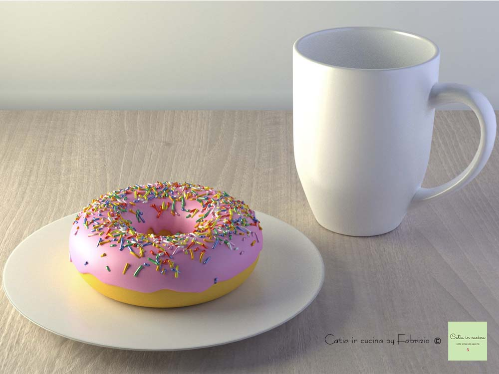 donut 3D by Fabrizio