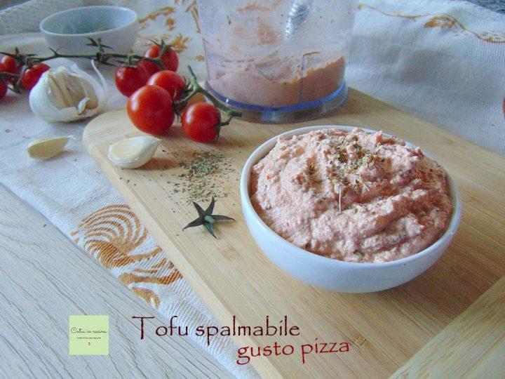 tofu spalmabile gusto pizza