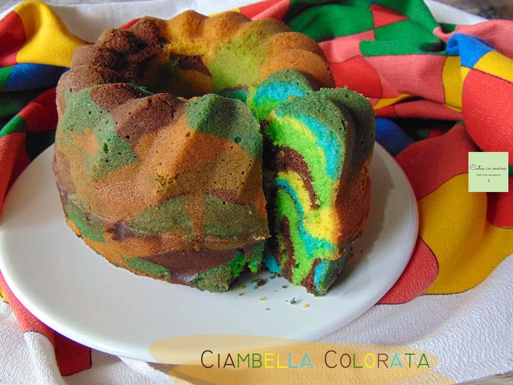 ciambella colorata