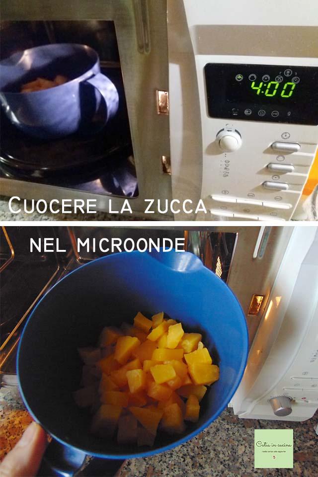 cuocere la zucca nel microonde steps