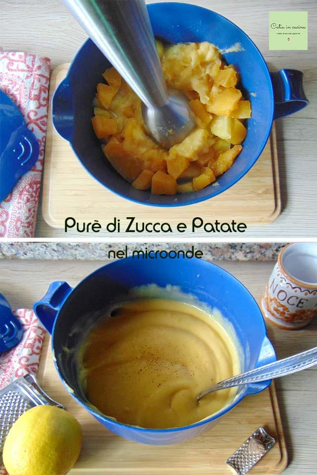 purè di zucca e patate nel microonde steps4-5