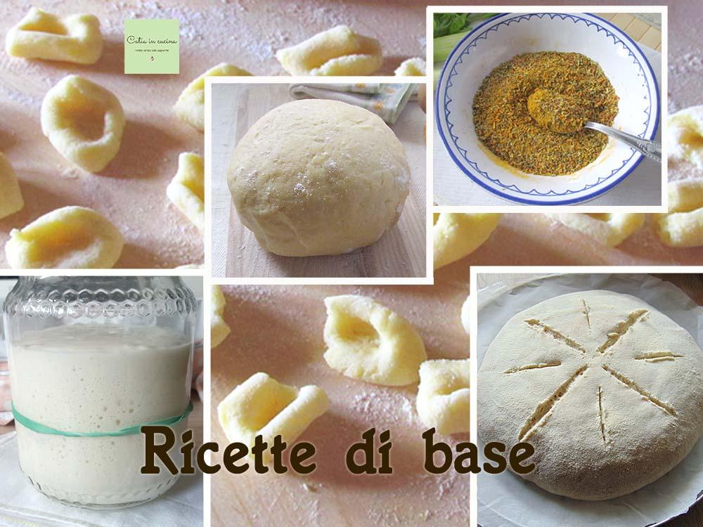 ricette d base