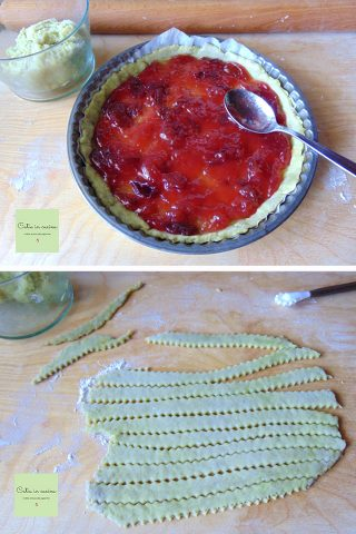 crostata di avocado steps1-2
