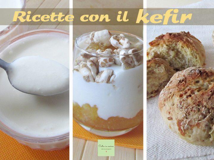 raccolta di ricette con il kefir