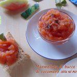 marmellata di bucce di cocomero