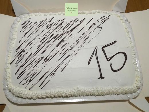 torta farcita - decorazione cioccolato