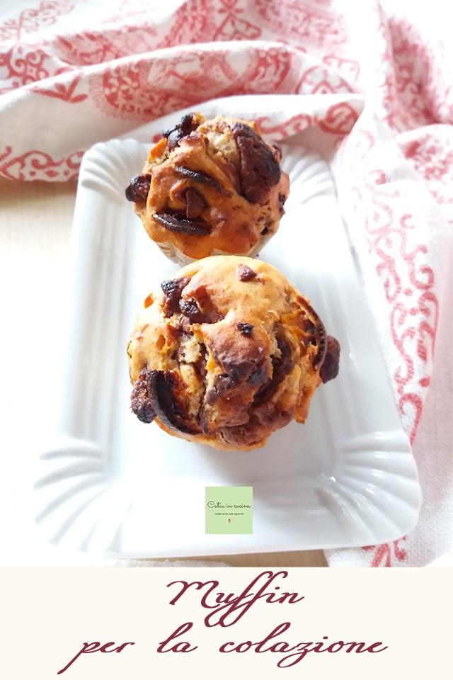 muffin per caso - muffin per la colazione
