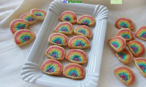 Biscotti arcobaleno di Flavia