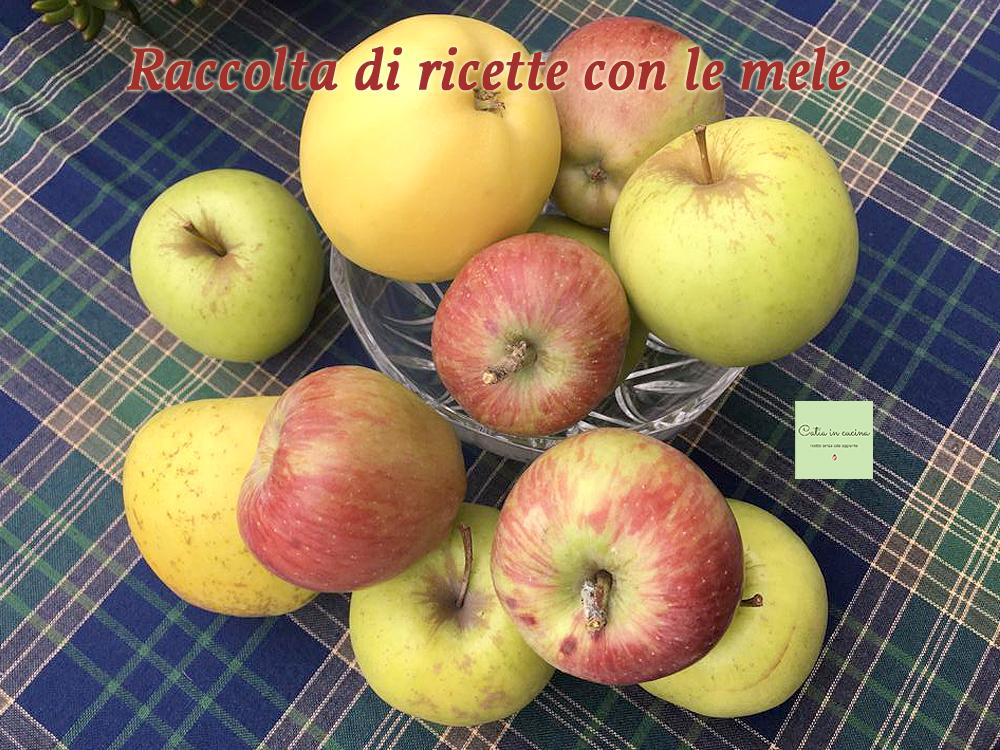 raccolta di ricette con le mele