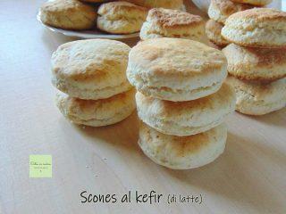 scones al kefir di latte