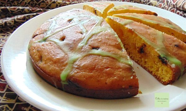 Zucca in torta stregata
