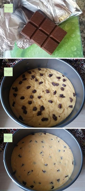 zucca in torta stregata - cioccolato