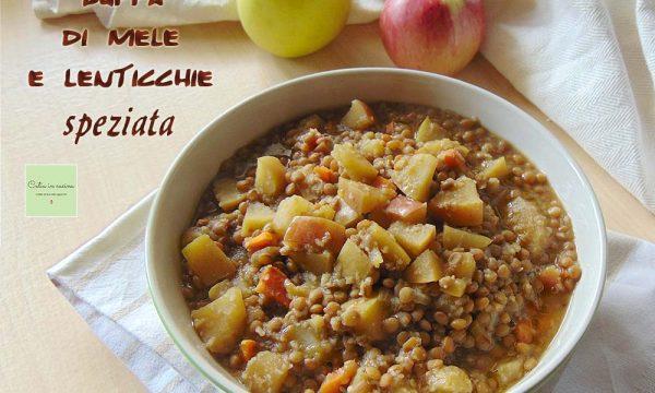 Zuppa di mele e lenticchie speziata