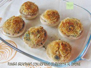 champignon ripieni gratinati
