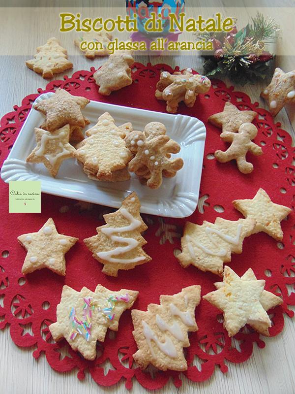 biscotti di Natale cocco e farro