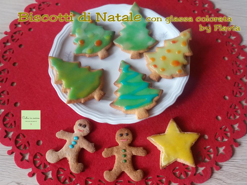 biscotti di Natale con glassa colorata by Flavia