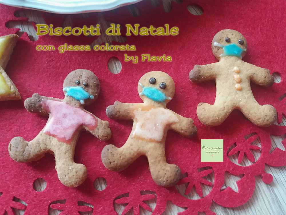 biscotti di Natale con mascherine by Flavia