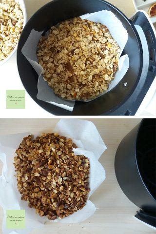 granola in friggitrice ad aria