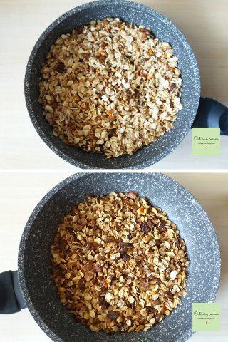 granola in padella