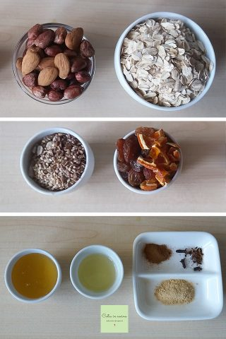granola ingredienti